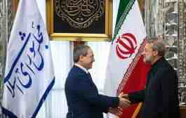 دیدار قائم مقام وزیر خارجه سوریه با رئیس مجلس شورای اسلامی