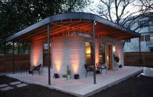 ساخت این خانه با فناوری پرینت 3 بعدی فقط به 4000 دلار هزینه و 24 ساعت وقت نیاز دارد