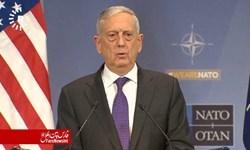 ادعای جدید وزیر دفاع آمریکا درباره ایران