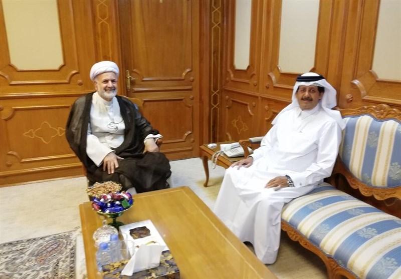 دیدار سفرای قطر و ایران در عمان