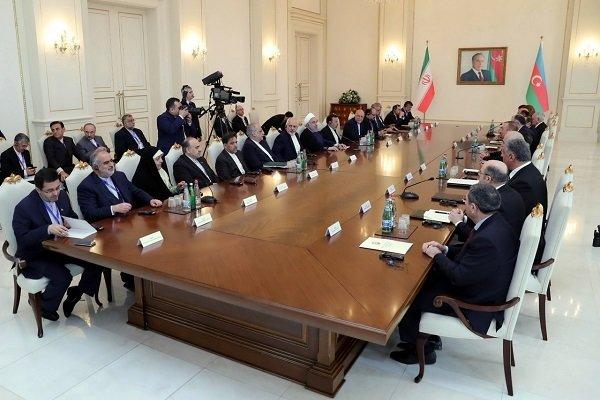 گسترش روابط تهران-باکو به نفع منطقه است