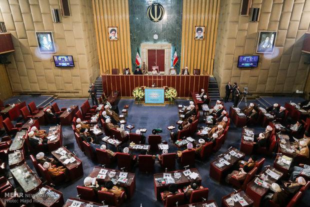 زمان نخستین نشست هیئت اندیشهورز مجلس خبرگان