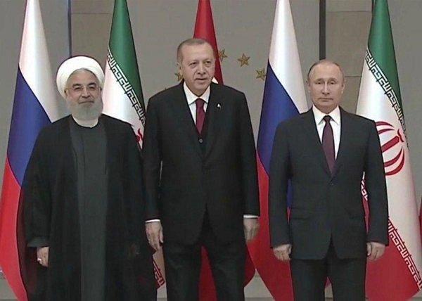 اجلاس سران کشورهای ایران، روسیه و ترکیه آغاز شد