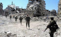 نظامیها در سوریه موفق بودهاند