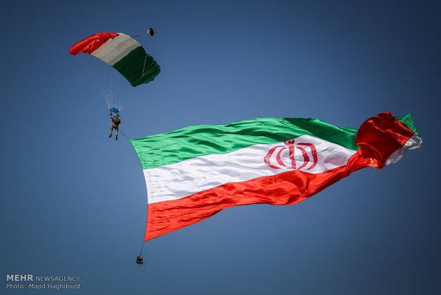 دستاوردهای قرارگاه پدافند هوایی خاتم الانبیا(ص) به نمایش درآمد