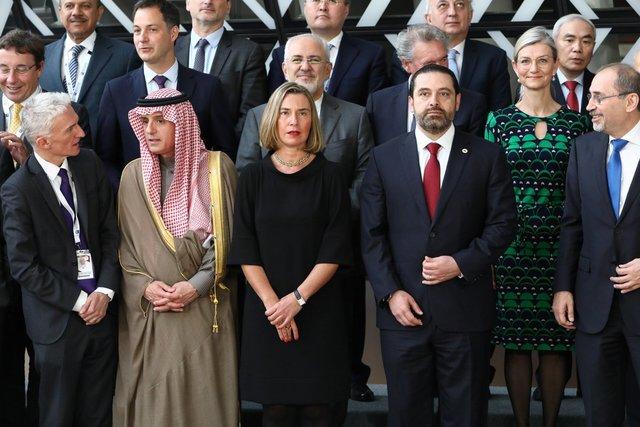 شرکت ظریف در نشست اتحادیه اروپا درباره سوریه
