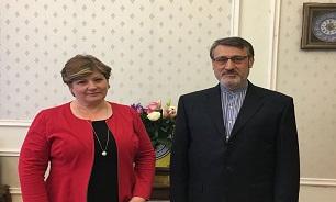 بعیدی نژاد با وزیر خارجه کابینه درسایه انگلیس دیدار کرد