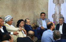 نشست مدیرعامل سازمان منطقه آزاداروند با بزرگان وسران طوایف غیور عرب