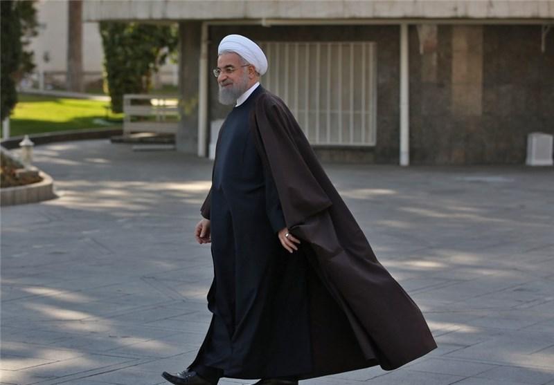 استقبال رسمی روحانی از رئیس جمهور سریلانکا