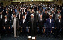 گزارش تصویری / دکتر روحانی در دیدار صمیمی با اصحاب رسانه