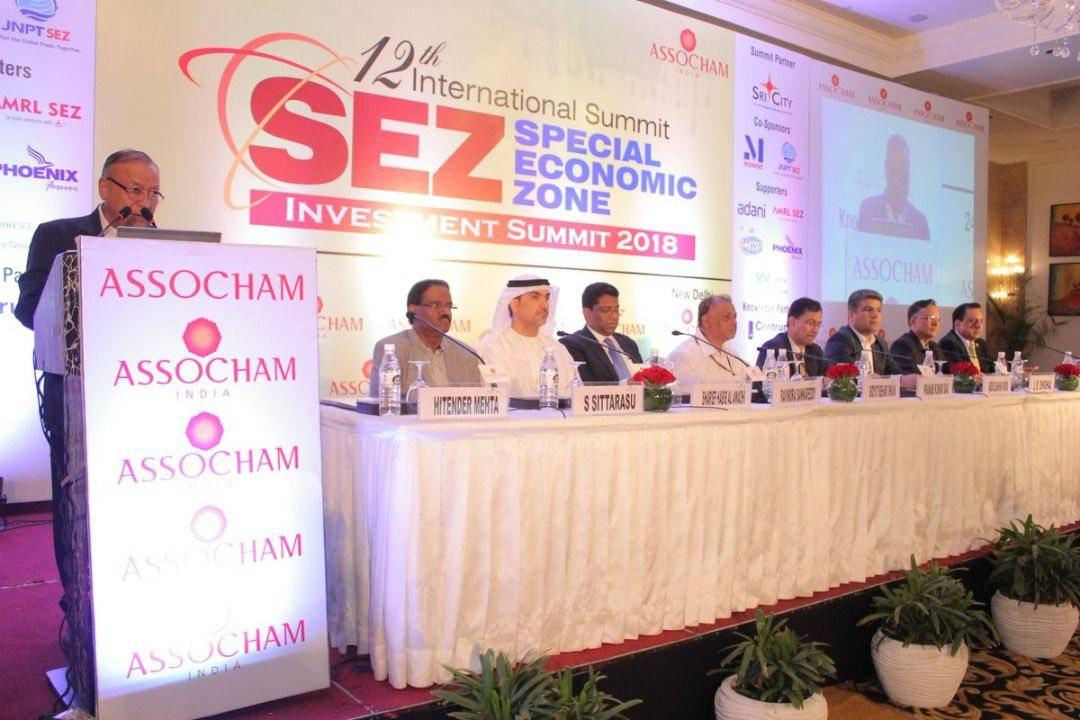 حضور مدیرعامل منطقه آزاد چابهار در دوازدهمین همایش بین المللی سرمایه گذاری مناطق ویژه اقتصادی -۲۰۱۸ هند