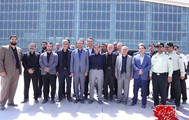 بازدید وزیر راه و شهرسازی از ترمینال گالری سلام: ظرفیت فرودگاه بینالمللی امام خمینی(ره) دوبرابر میشود