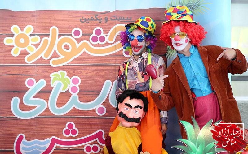رشد ۱۲درصدی گردشگران کیش در بیست و یکمین جشنواره تابستانی