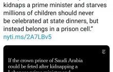 ادبیات کم سابقه در روزنامههای آمریکا بر ضد عربستان