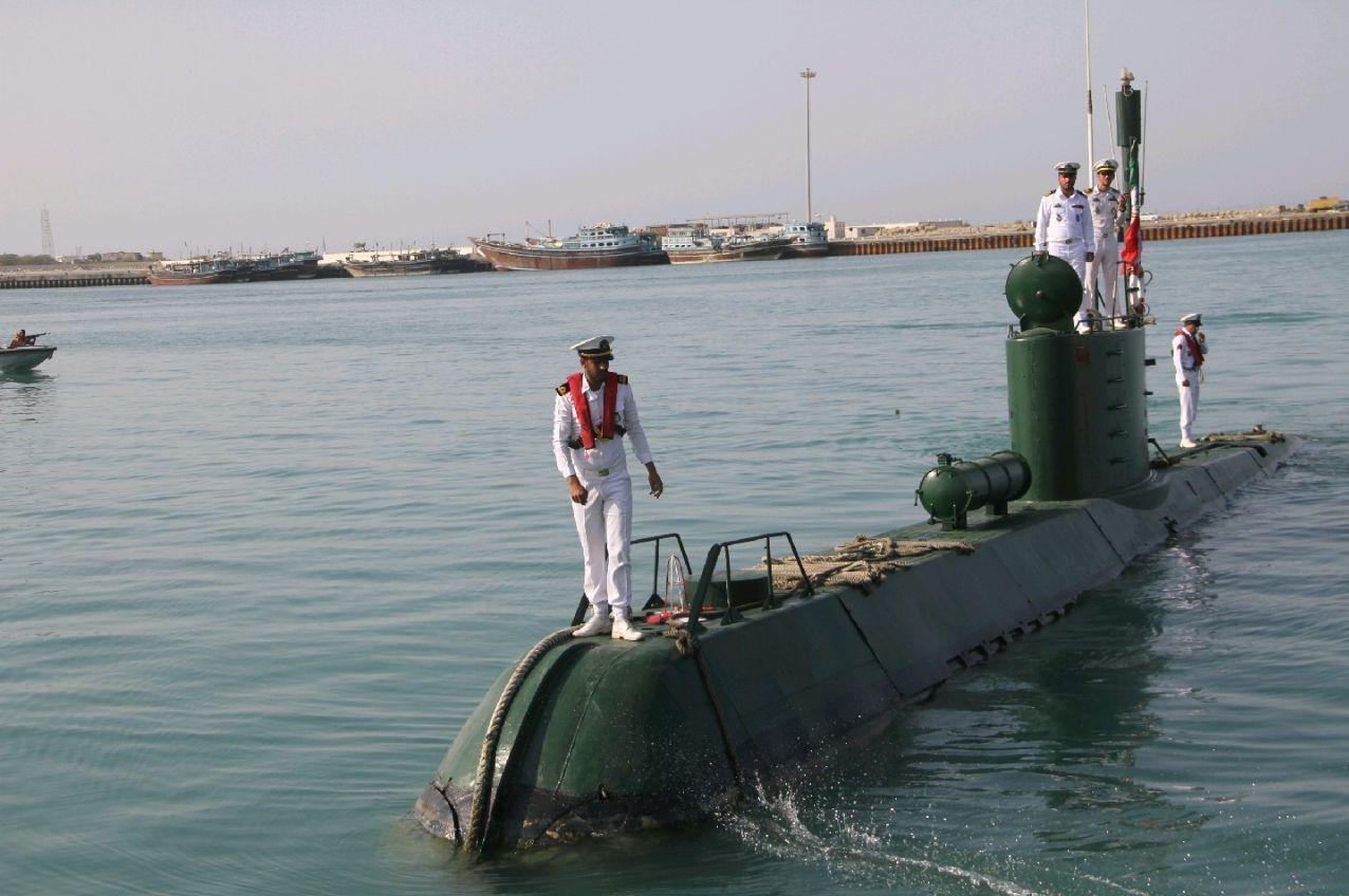 الحاق ۲ فروند زیردریایی کلاس غدیر به نیروی دریایی +عکس