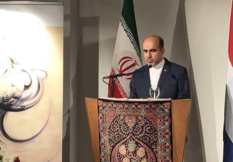 توئیت سفیر ایران در لاهه درباره نتیجه شکایت ایران از آمریکا