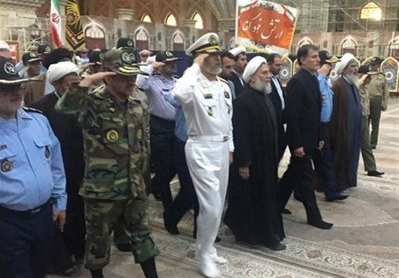 تجدید میثاق فرماندهان ارتش با آرمانهای امام راحل