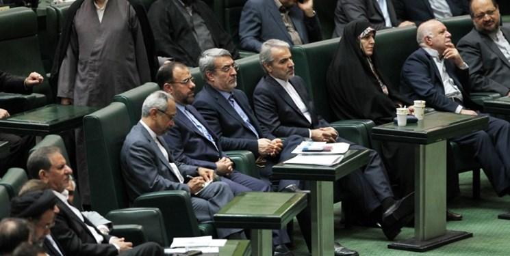 ۱۷ عضو کابینه به مجلس پاسخ میدهند