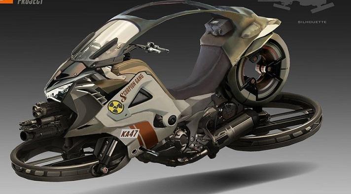 استفاده پلیس دوبی از موتورهای پرنده +عکس