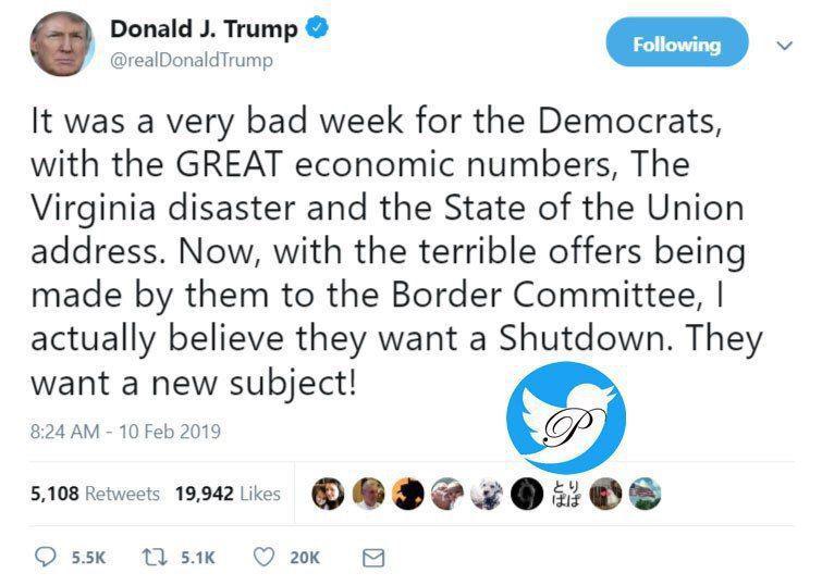ترامپ قصد دارد دولت را دوباره تعطیل کند؟