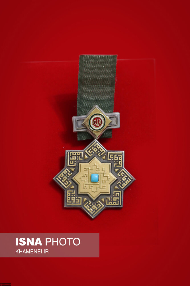 عکس| عالیترین نشان نظامی ایران