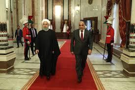 استقبال روحانی از نخست وزیر عراق