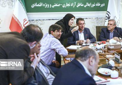 نشست مشترک وزیر صمت با دبیرخانه شورایعالی منطقه آزاد تجاری