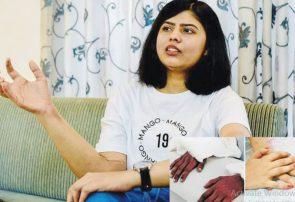 دستان مردانه به بدن یک زن وصل شد+عکس