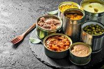آسیب های غذاهای کنسروی برای سلامت بدن